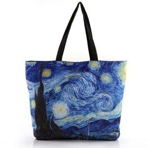 Handbags - Van Gogh Starry Night Tote Purse